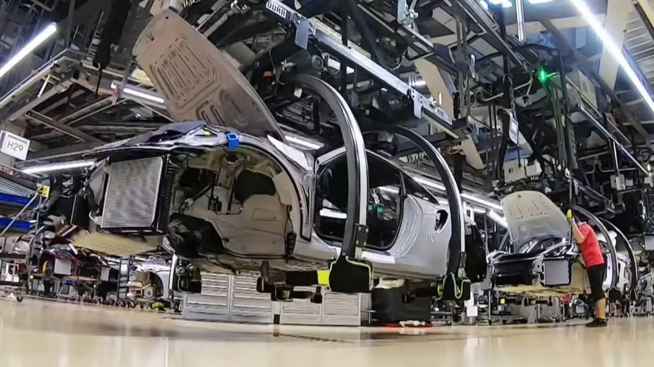 Porsche 911 fabbrica