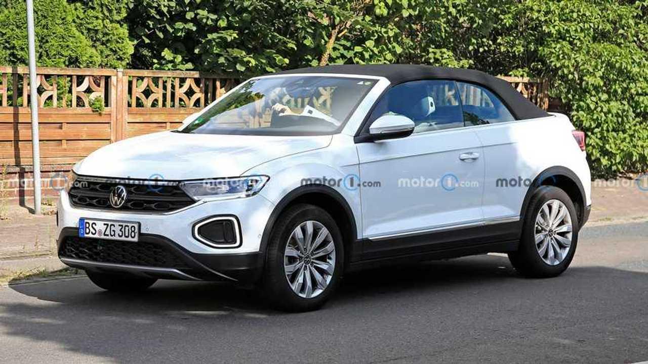 Volkswagen T-Roc Cabrio Test Araçları Ön Cephe