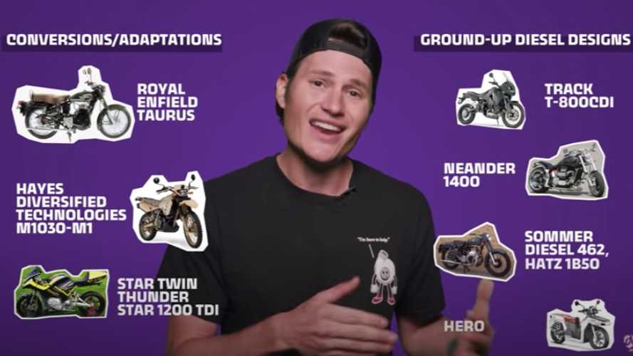 Ever Wonder Why There Aren't Any Diesel-Powered Motorcycles?