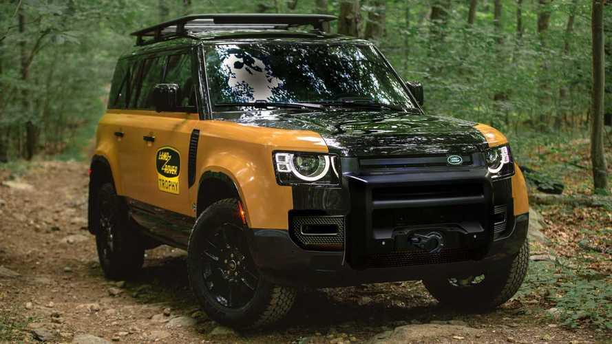 Land Rover Defender Trophy Edition готов покорять бездорожье