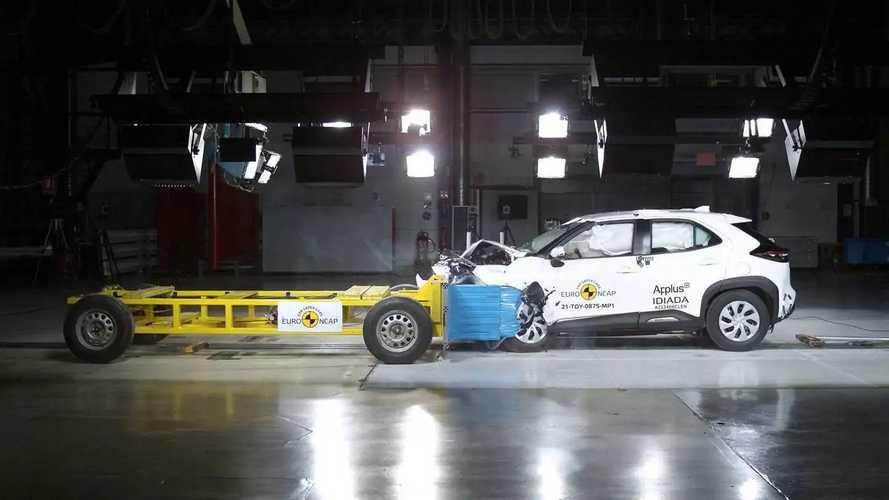 EuroNCAP, Toyota Yaris Cross e SUV elettrici a 5 stelle