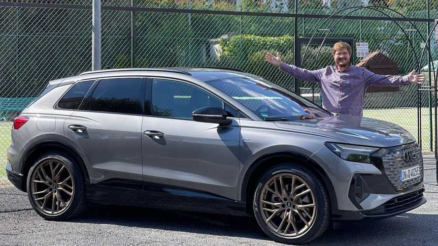 Audi Q4 E-Tron First Drive: Is It Trying To Be Too Serious?