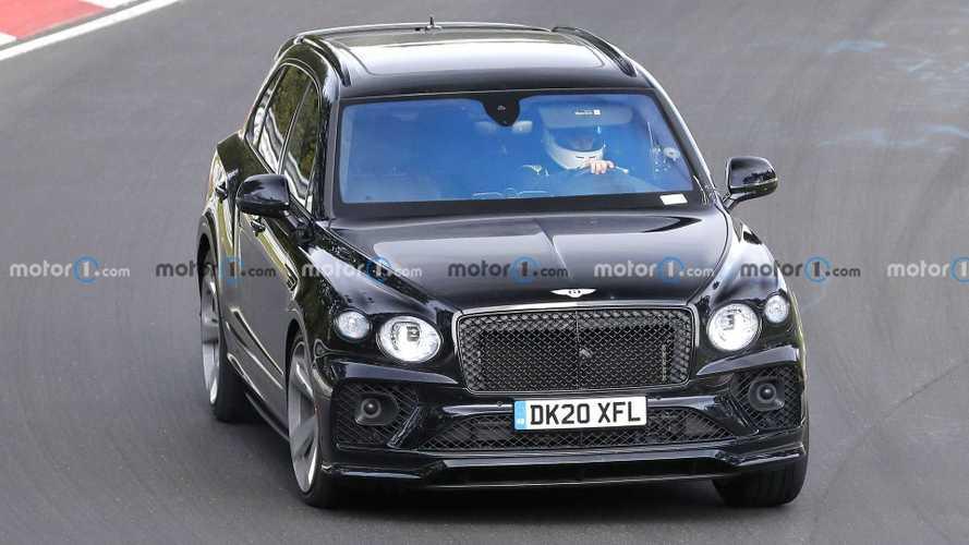 Bentley Bentayga Black Edition Spy Shots