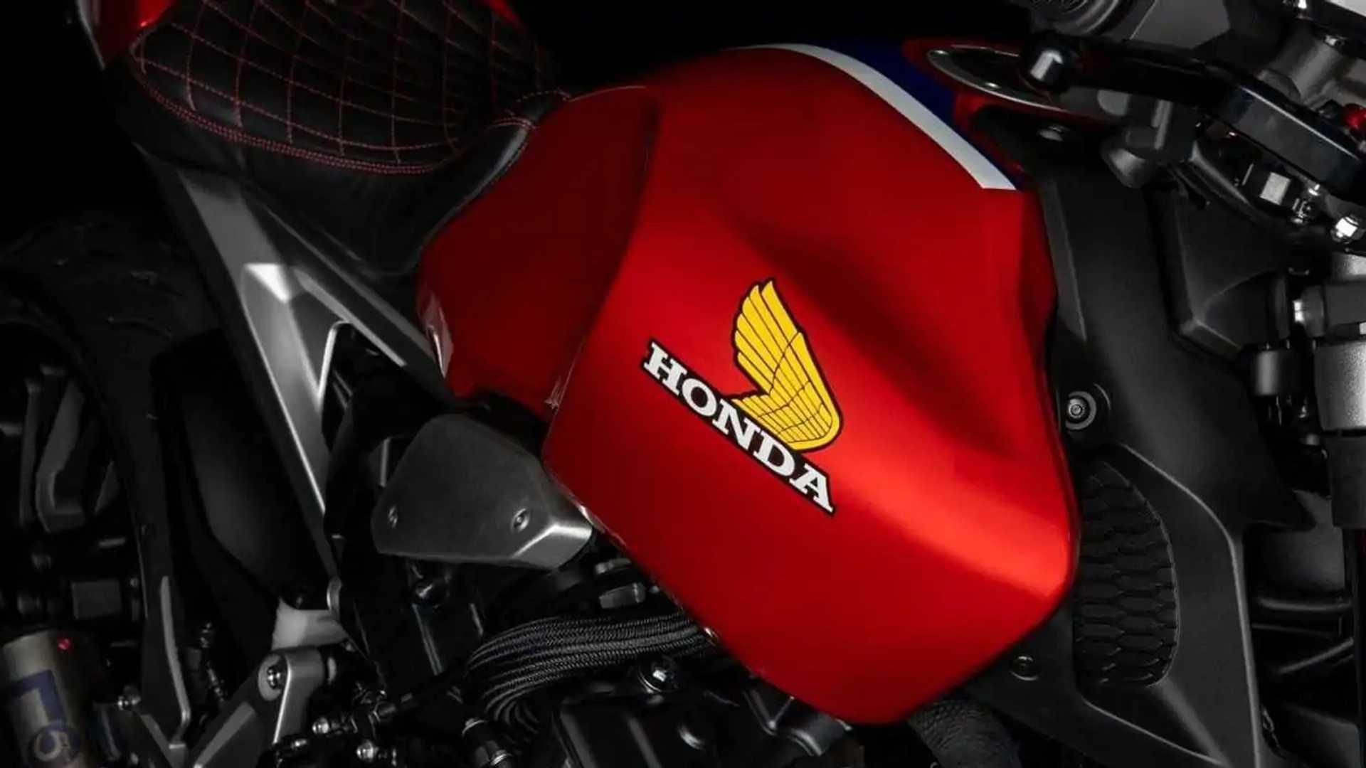 2021 Honda CB1000R 5Four - Tank, Side