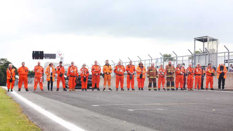 Marshals club pays tribute to volunteers after fatal Brands Hatch crash