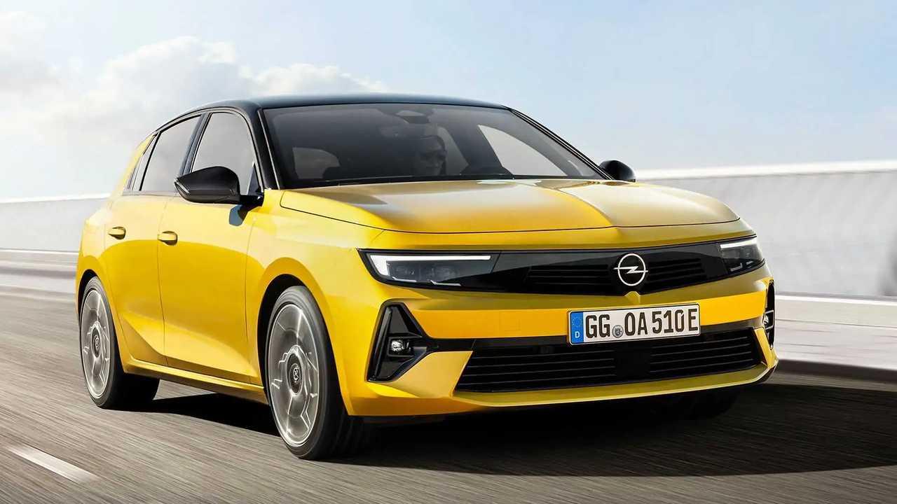 Nuova Opel Astra (2022)