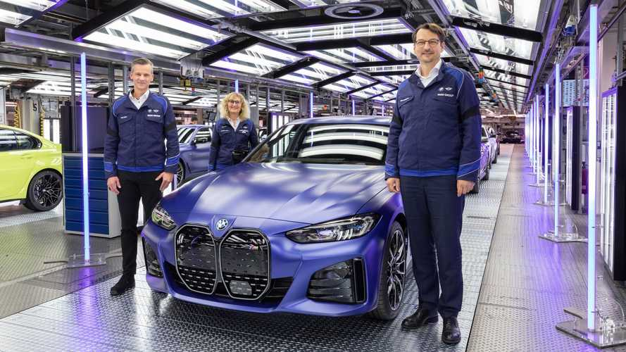 BMW i4 Enters Series Production In Munich