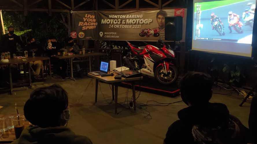 Nonton Bareng MotoGP Bersama Komunitas Honda Jawa Barat