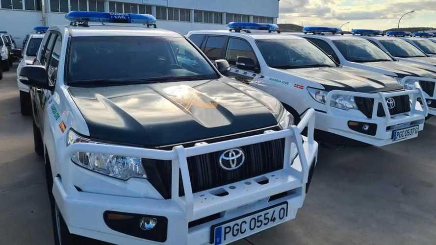 La Guardia Civil combatirá el narcotráfico con 73 nuevos coches