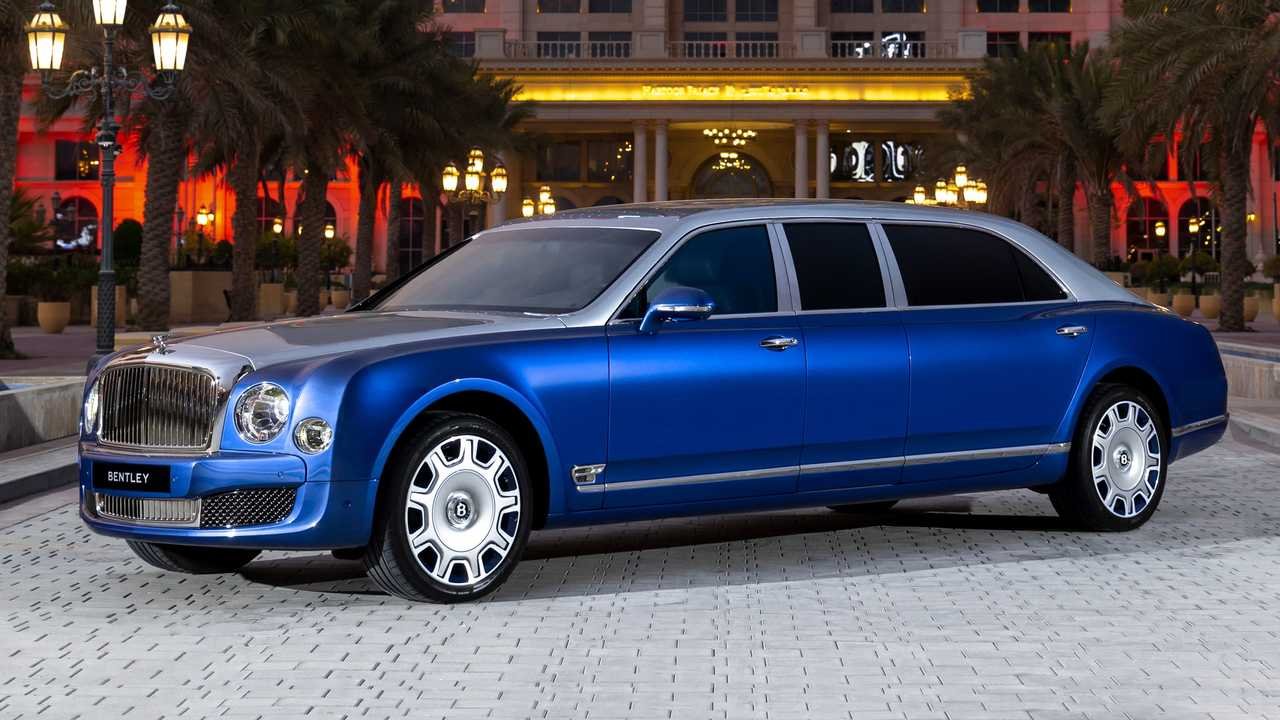 bentley mulsanne grand limousine for sale front