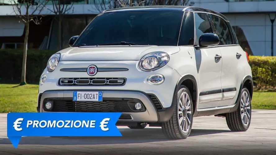 Promozione Fiat 500L benzina, perché conviene e perché no