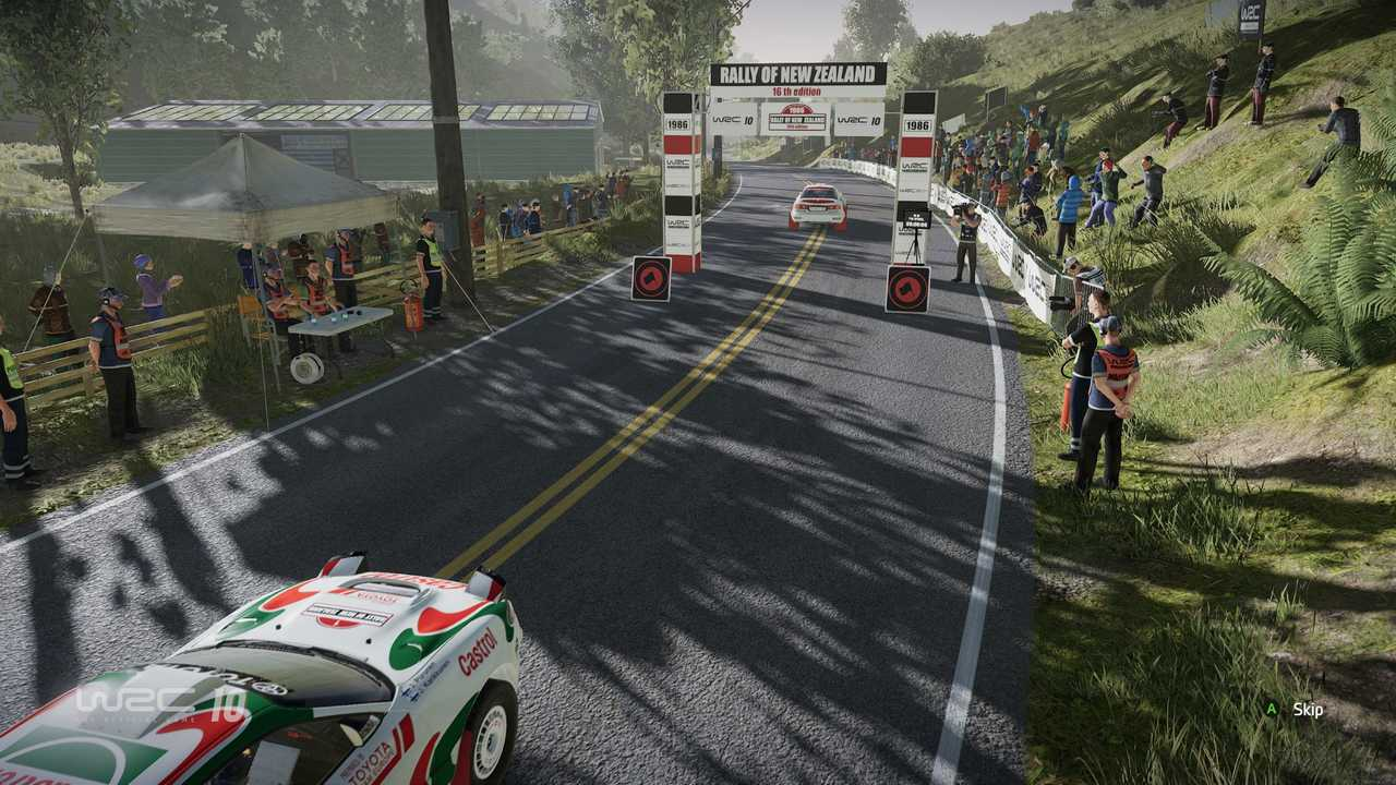 WRC 10 Gameplay Xbox One X