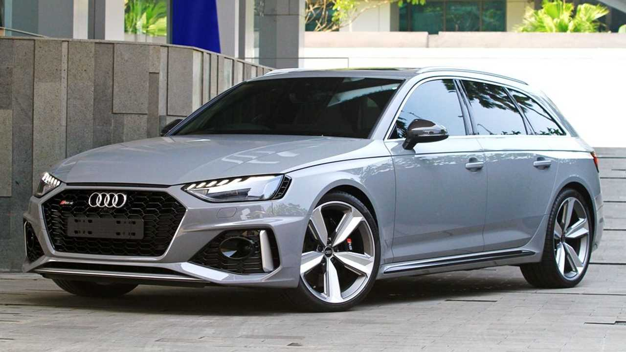 Audi RS 4 Avant wagon resmi masuk Indonesia.