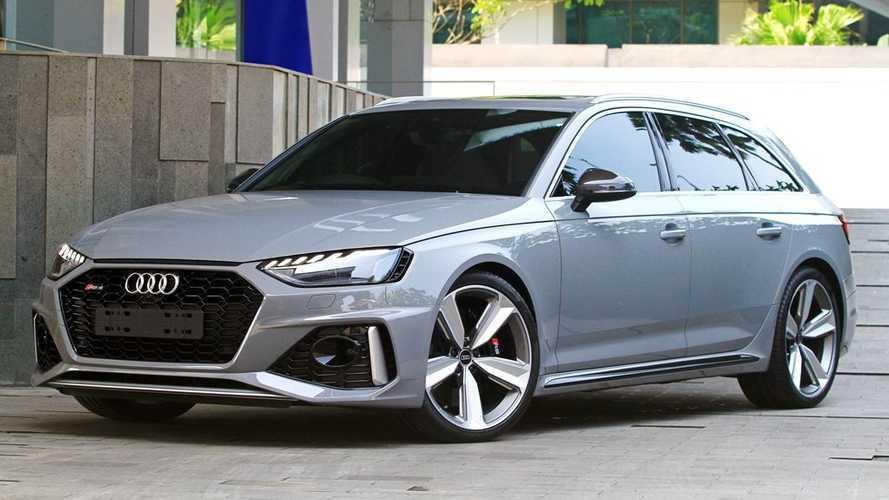 New Audi RS 4 Avant: Wagon Paling Bertenaga