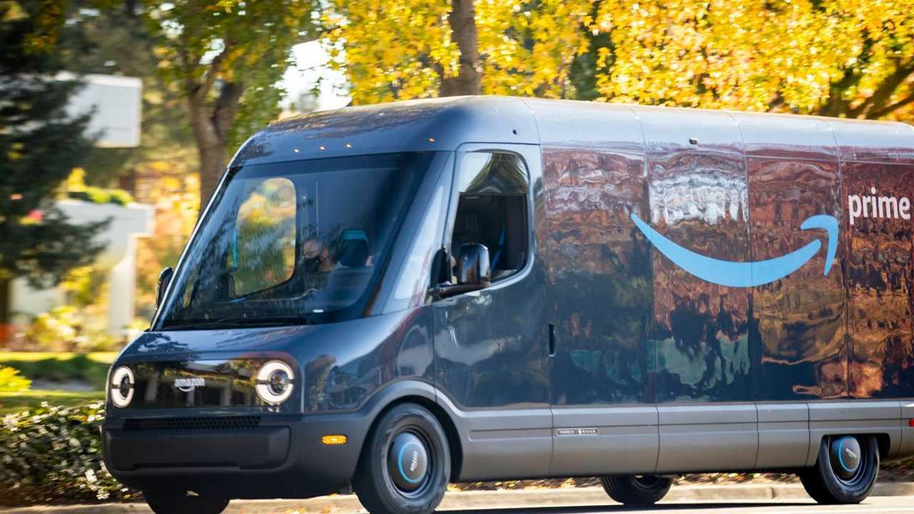 Электрический фургон Rivian для Amazon