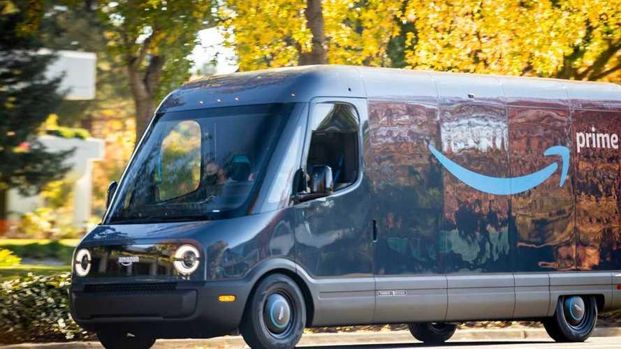 Rivian поставит в приоритет сборку электрофургонов для Amazon