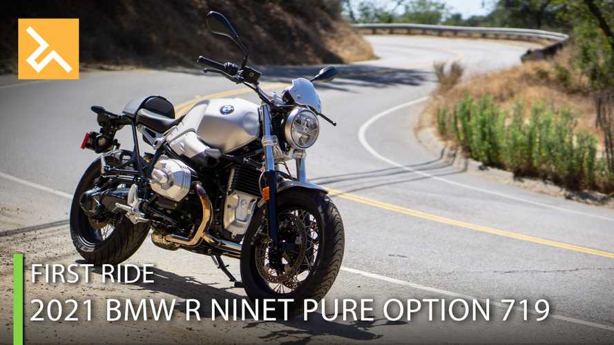 2021 BMW R NineT Pure Option 719 First Ride Review