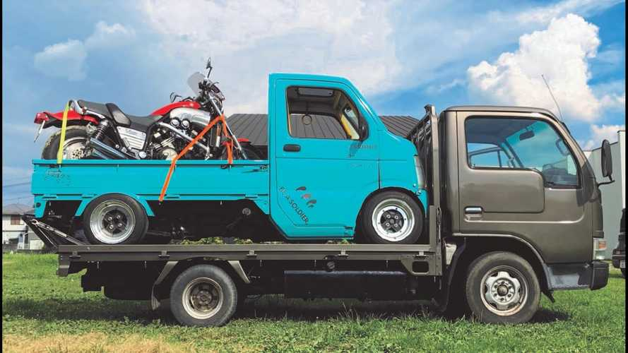 Is Stuffing A Yamaha VMax V4 Inside A Kei Truck The Best Idea Ever?