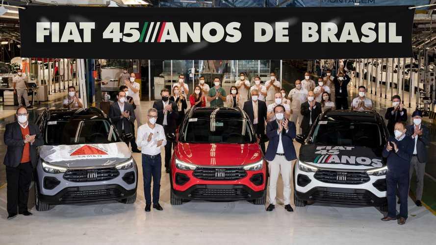 Fiat Pulse 2022 já começou a ser produzido no Brasil; veja flagra