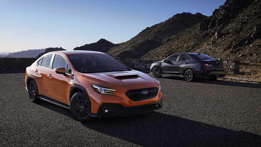 2022 Subaru WRX debuts new engine and platform, familiar package