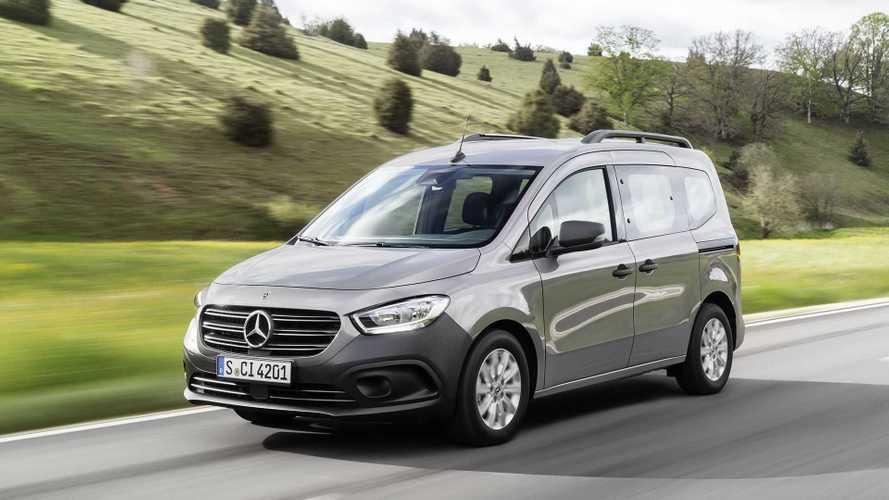 Nueva Mercedes-Benz Citan: disponible en versiones Van y Tourer