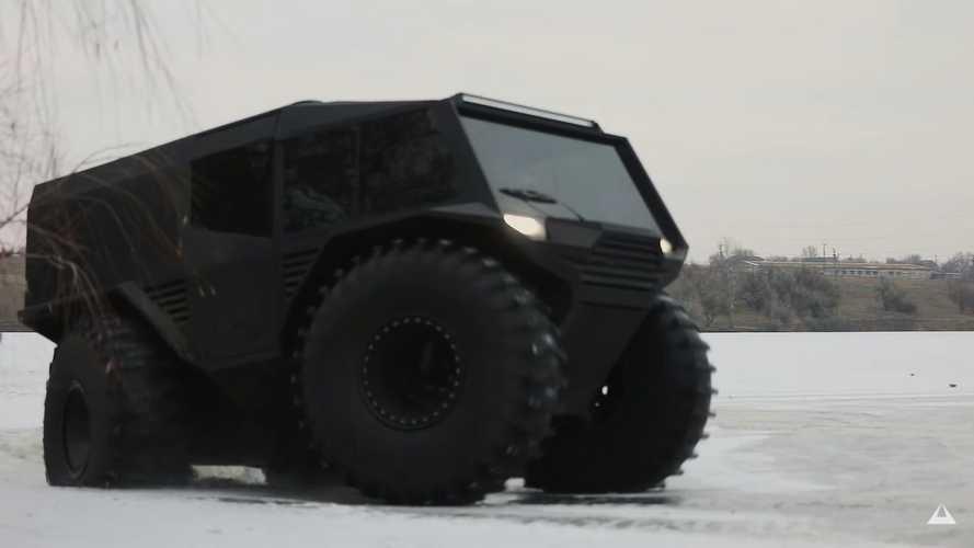 Atlas ATV - Le tout-terrain de l'extrême avec un moteur Renault