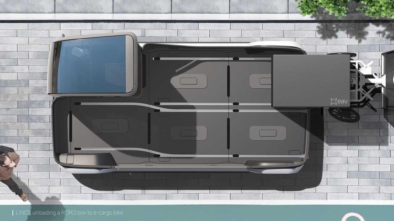 Универсальный грузовик Eav Lincs