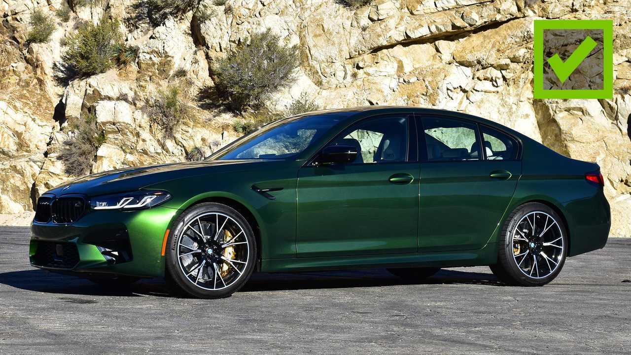 2021 BMW M5 Pro 2