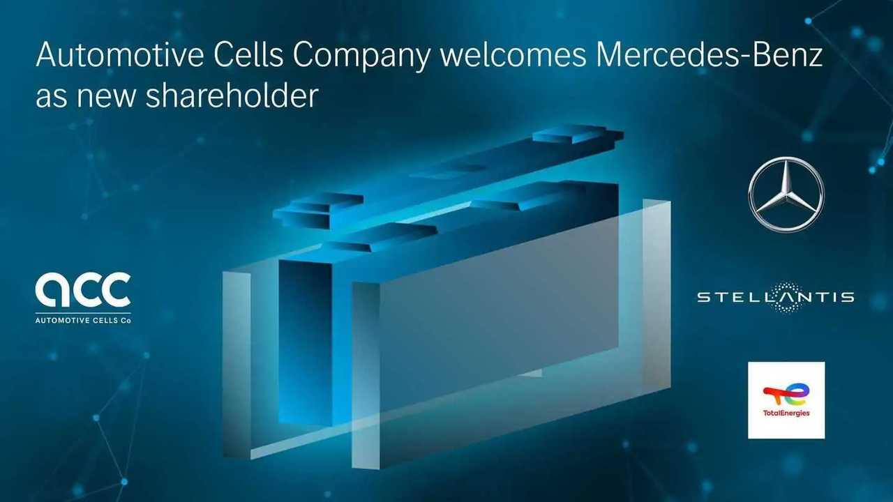 Mercedes tritt in das Batteriezell-Joint-Venture ACC ein