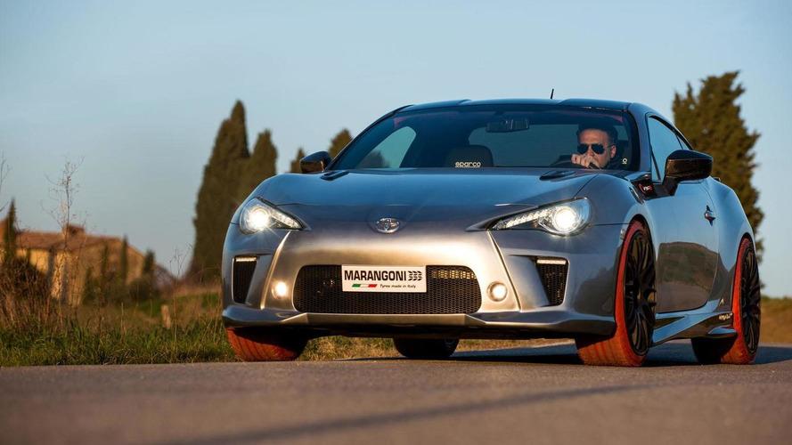 Toyota GT86-R Marangoni Eco Explorer introduced in Geneva