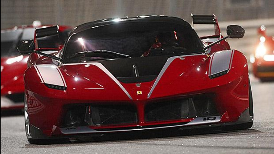 [Copertina] - Ferrari FXX K, il mostro scende in pista
