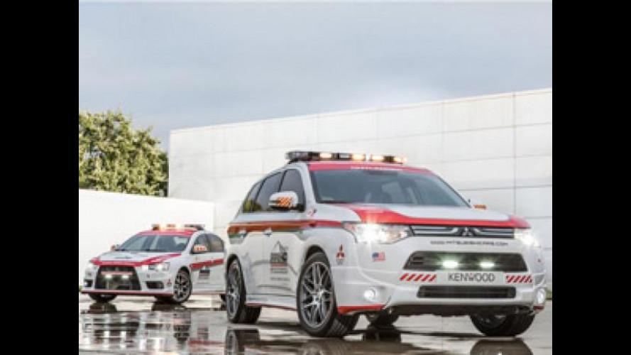 Mitsubishi garantisce la sicurezza alla Pikes Peak 2013