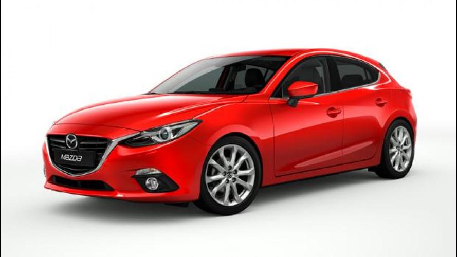 Nuova Mazda3: i prezzi indicativi