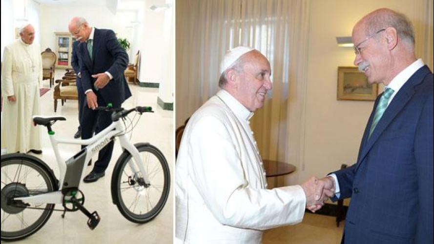 """Ecco la prima """"Papabici"""" a pedalata assistita!"""