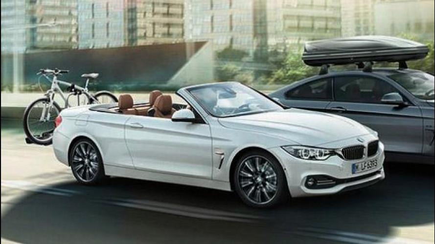 BMW Serie 4 Cabriolet, le prime foto