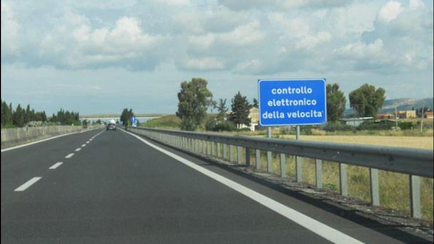 Autostrade: presto il Tutor sarà attivo 24 ore su 24