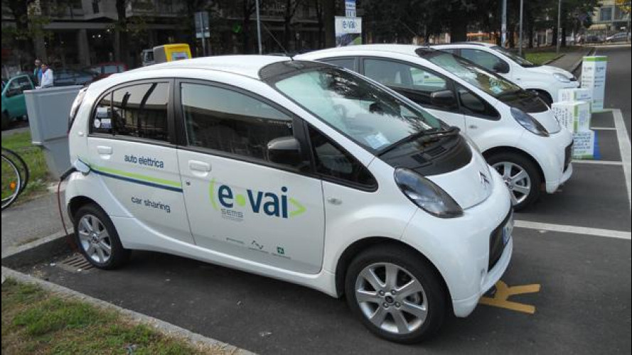 Car sharing, e-vai arriva a Gallarate