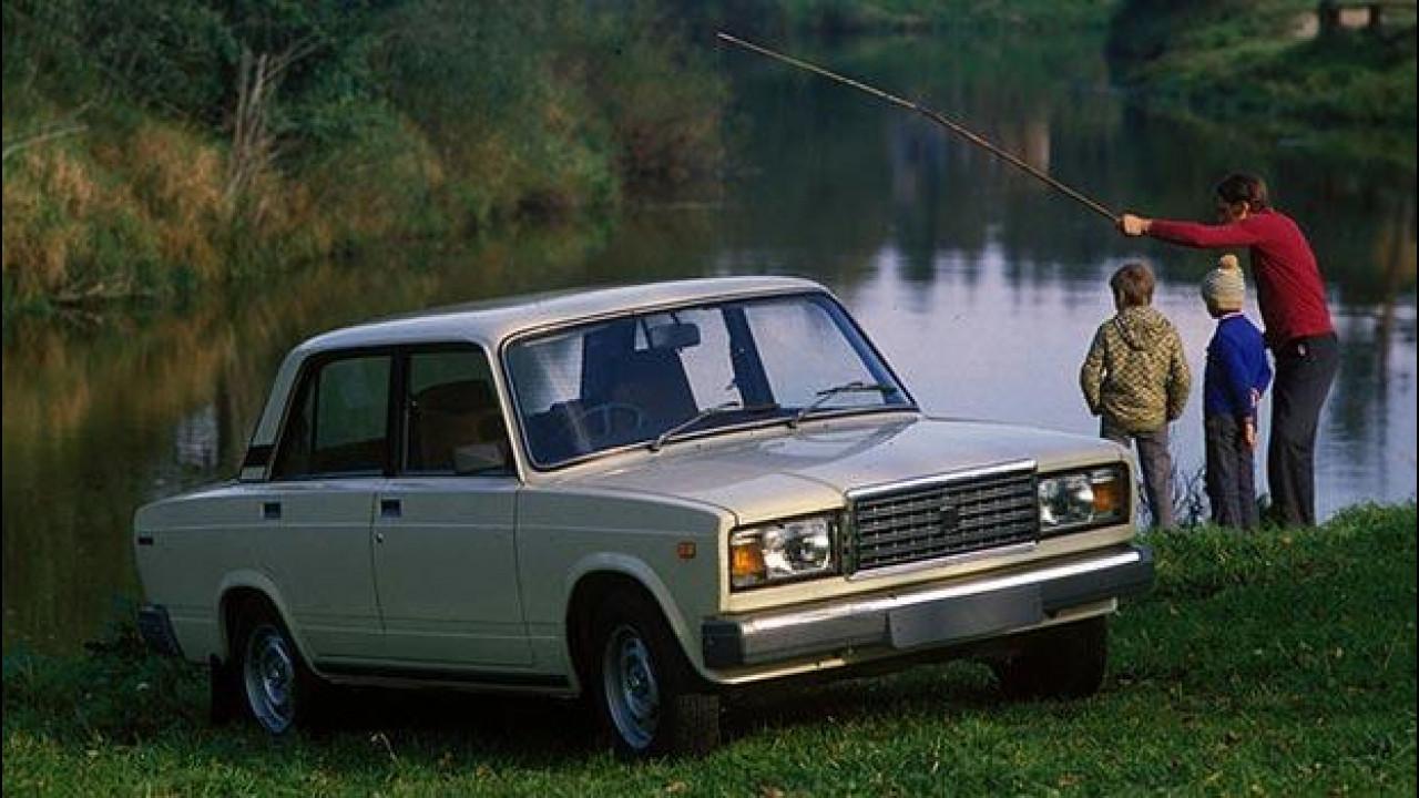 [Copertina] - La Fiat 124 russa va in pensione