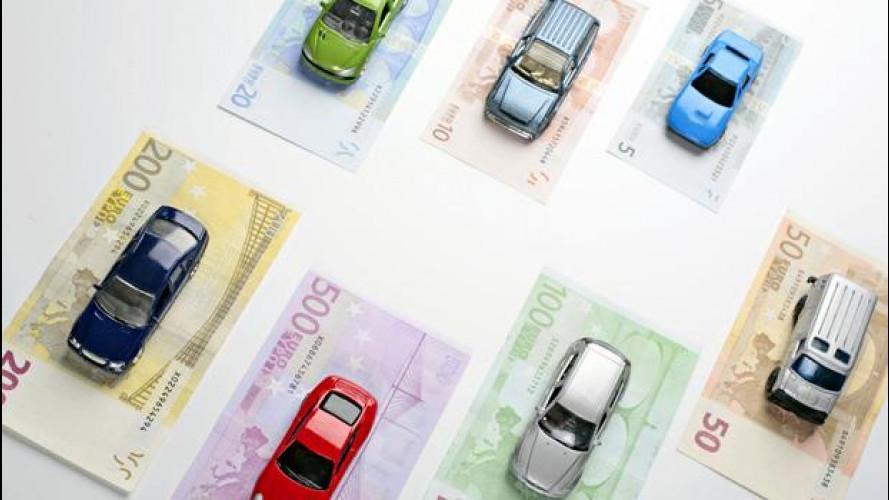 Quanto valgono le auto in Italia, con la crisi