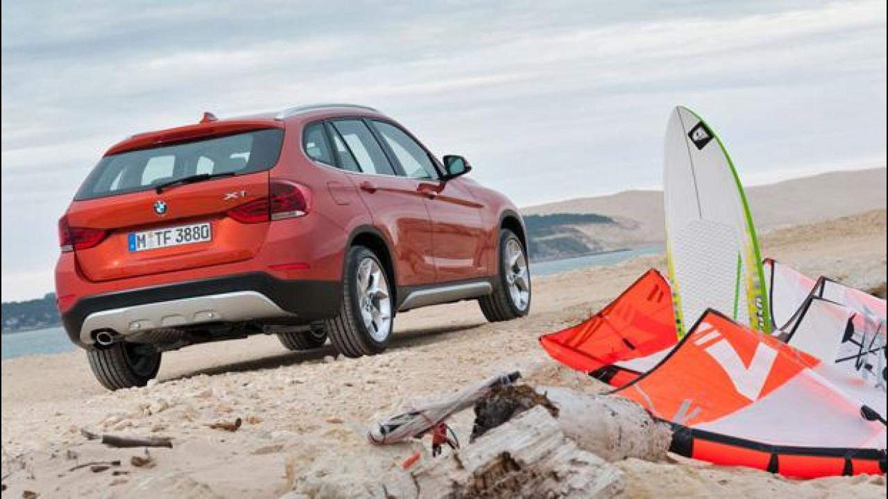 [Copertina] - BMW Serie 1 e X1 restyling si provano ad agosto