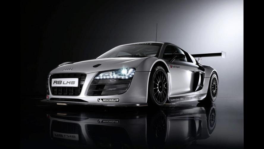 Audi R8 LMS: consegnata la prima vettura