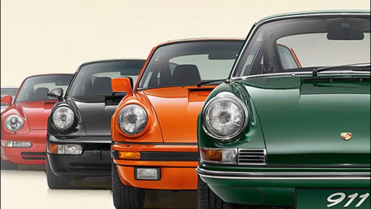 [Copertina] - Porsche festeggia i 50 anni della 911 con un tour