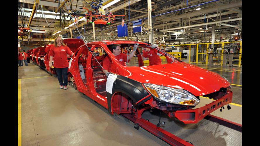 Nelle fabbriche Ford l'auto si assembla da seduti