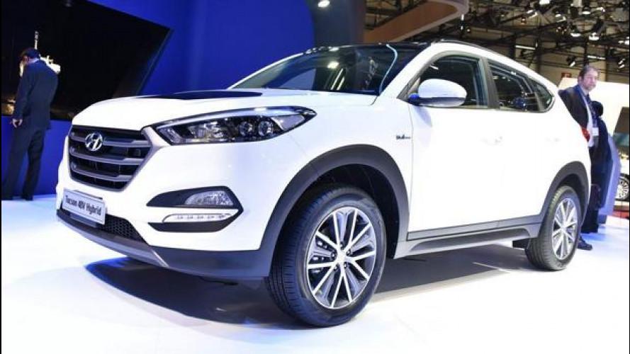 Hyundai Tucson, a Ginevra è anche ibirida