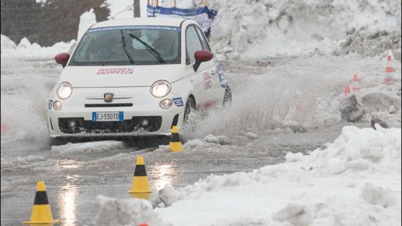 [Copertina] - Gomme invernali, pneumatici e catene da neve: i risultati dei test drive sullo Stelvio