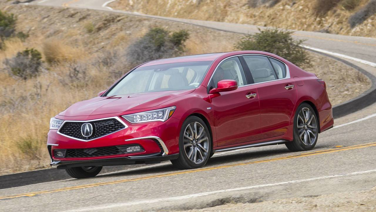 2018 Acura RLX Sport Hybrid: All-Around Efficiency