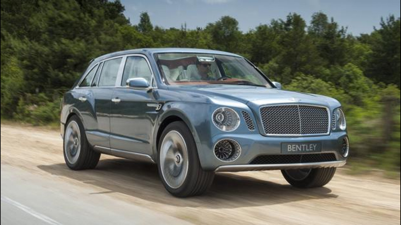 [Copertina] - La Bentley EXP 9 F cerca consensi