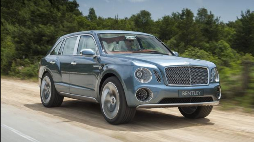 La Bentley EXP 9 F cerca consensi