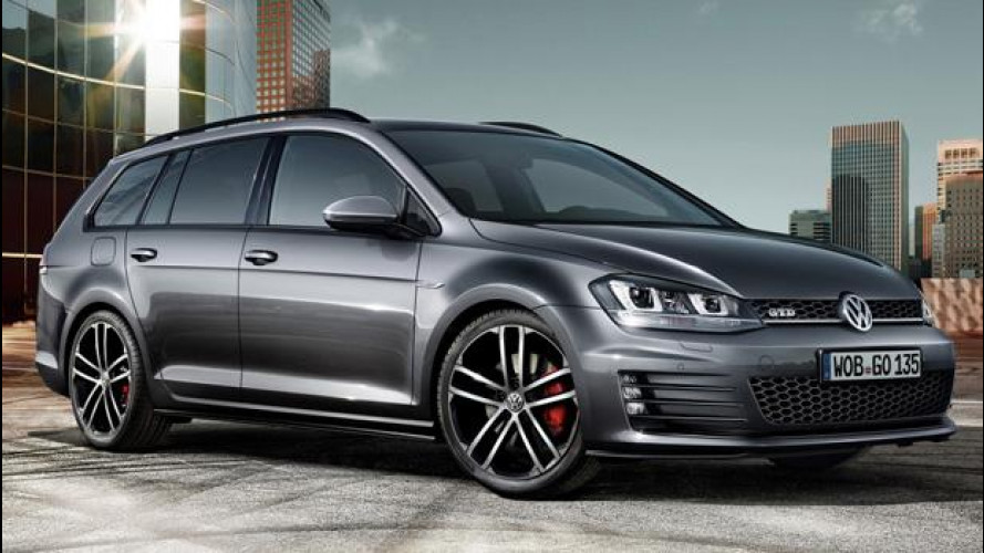 Volkswagen Golf GTD Variant, diesel per sport e per famiglia