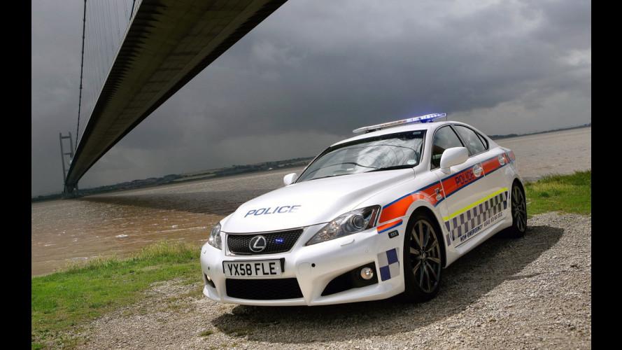 Lexus IS-F per la Polizia britannica